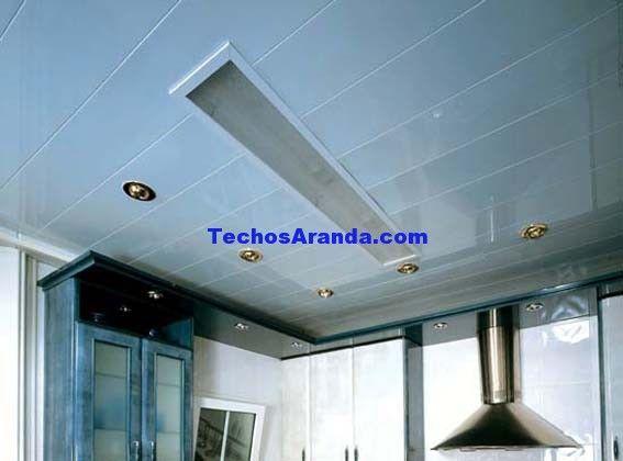 Precios económicos montajes techos de aluminio decorativos