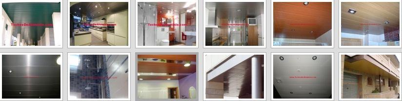 Precios económicos montajes techos de aluminio registrables decorativos