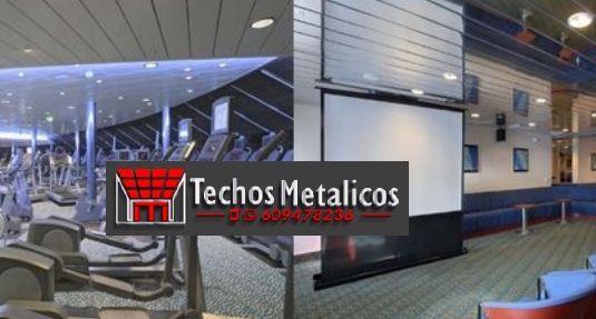 Precios económicos ofertas techos aluminio desmontables decorativos