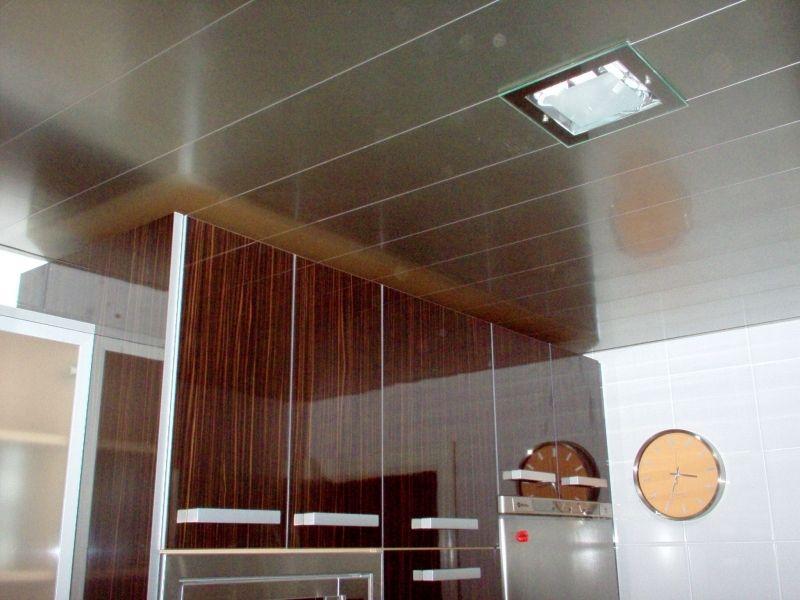 Precios económicos techos de aluminio acústicos decorativos para cocinas