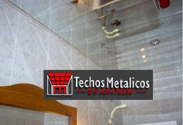Precios económicos techos de aluminio decorativos para baños