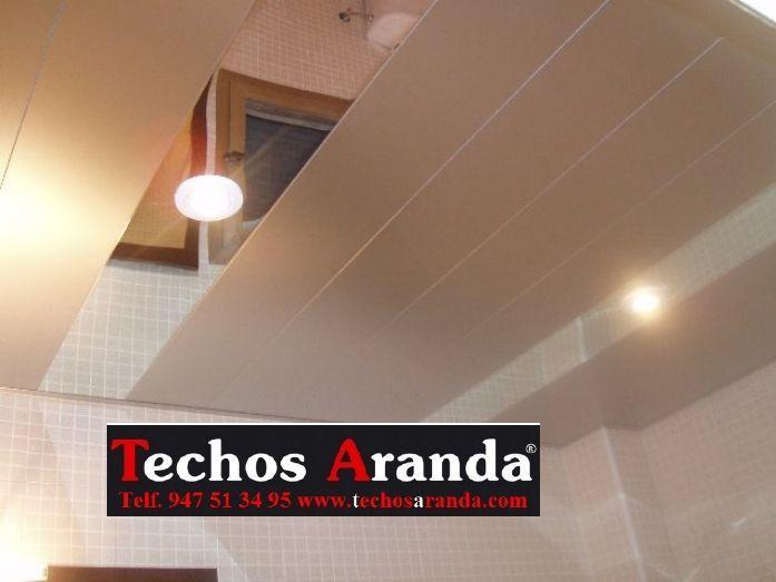 Precios económicos techos de aluminio desmontables decorativos para baños