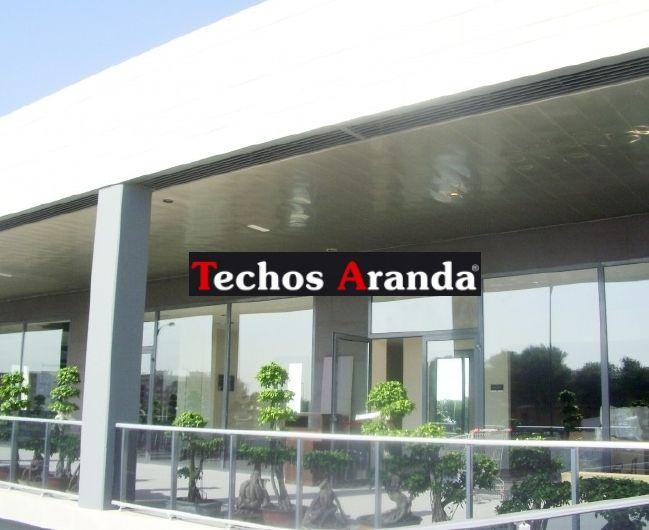 Precios empresa techos aluminio registrables decorativos