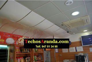 Precios montaje techos aluminio acústicos decorativos