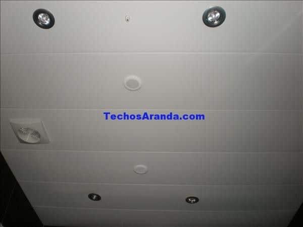 Precios montaje techos aluminio registrables decorativos