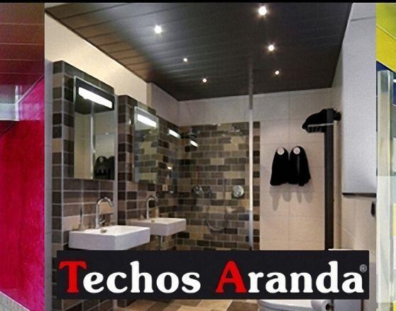 Precios techos de aluminio desmontables decorativos para baños