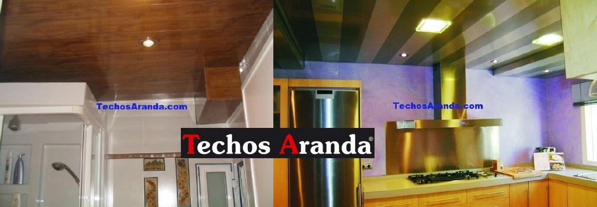 Precios techos de aluminio desmontables decorativos
