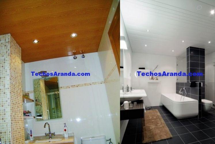 Precios techos de aluminio registrables decorativos para baños