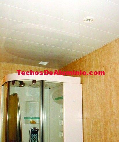 Presupuesto de falsos techos aluminio acústicos decorativos