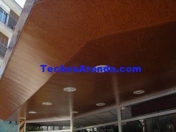 Presupuesto de falsos techos aluminio lacados