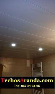 Presupuesto de falsos techos aluminio registrables decorativos