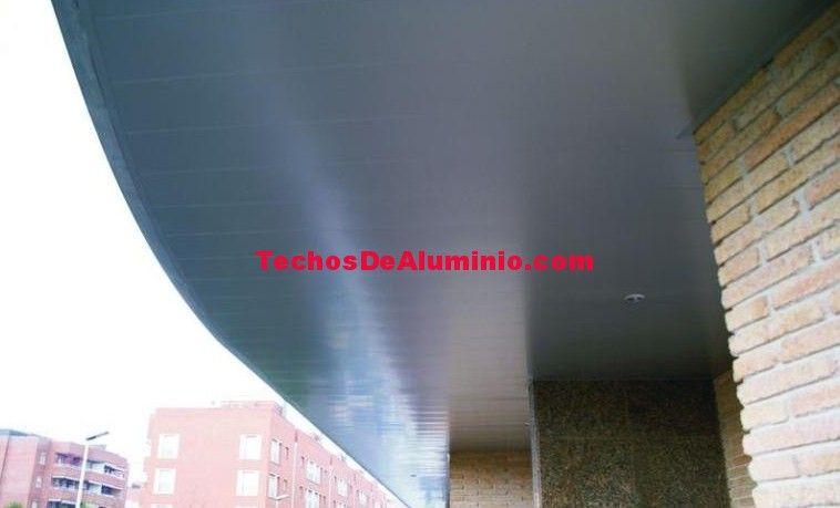 Presupuesto de montaje techos aluminio acústicos decorativos