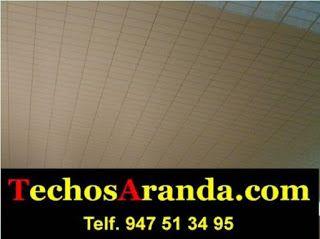 Presupuesto de montaje techos aluminio registrables decorativos