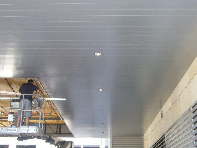 Presupuesto de techo de aluminio acústico decorativo