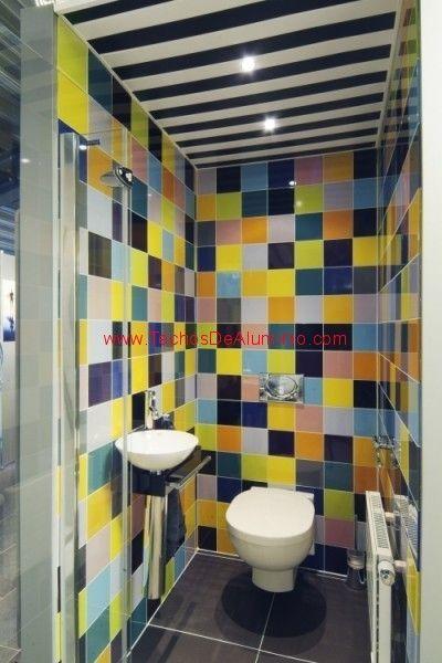 Presupuesto de techos de aluminio acústicos decorativos para baños