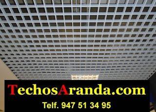 Presupuesto económico instaladores de techos de aluminio acústicos decorativos