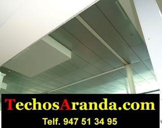 Presupuesto económico montadores techos de aluminio acústicos