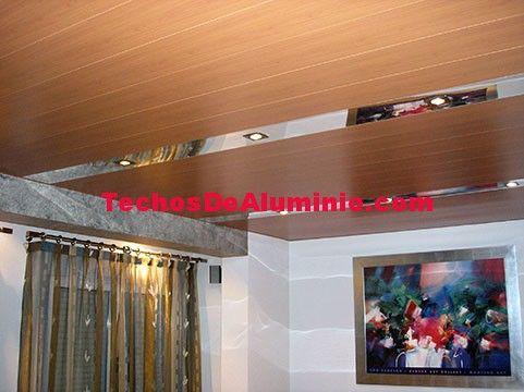 Presupuesto económico montaje techos aluminio registrables decorativos