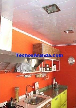 Presupuesto económico techos de aluminio acústicos para cocinas