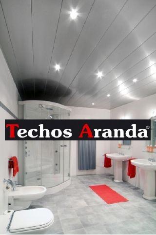 Presupuesto económico techos de aluminio registrables decorativos para baños