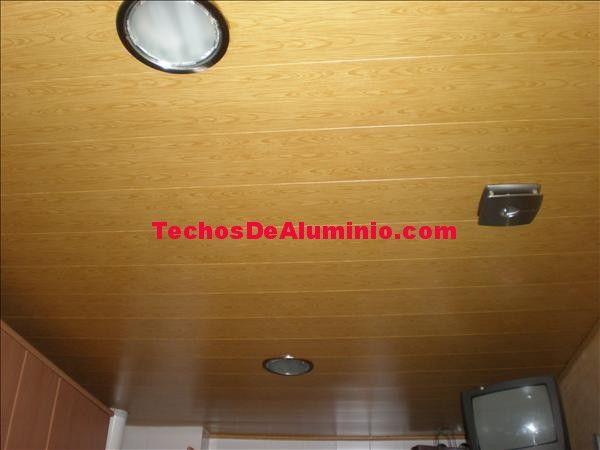 Presupuesto falsos techos aluminio acústicos decorativos