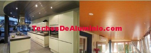 Presupuesto lamas techos aluminio registrables decorativos