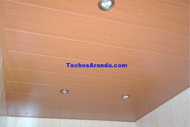 Presupuesto montaje techos aluminio registrables decorativos