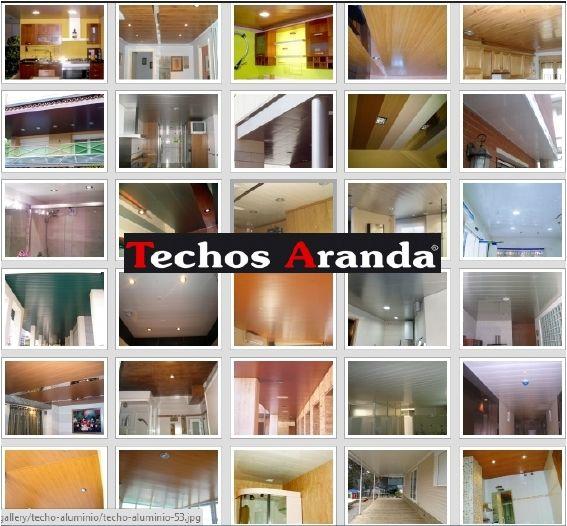 Presupuesto montaje techos de aluminio desmontables decorativos