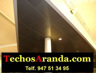 Presupuesto ofertas techos aluminio acústicos decorativos