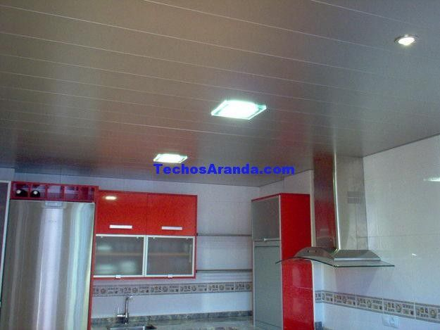 Presupuesto techo aluminio registrable decorativo