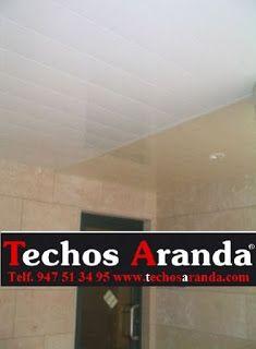 Presupuesto techos de aluminio acústicos decorativos para baños