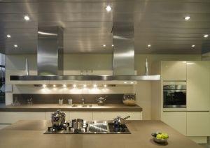 Presupuesto techos de aluminio acústicos decorativos para cocinas