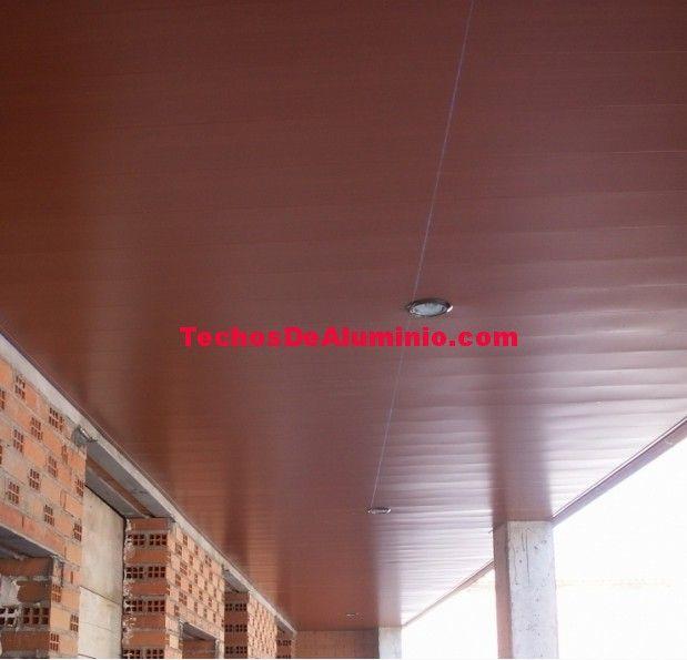 Presupuesto venta techos de aluminio acústicos decorativos