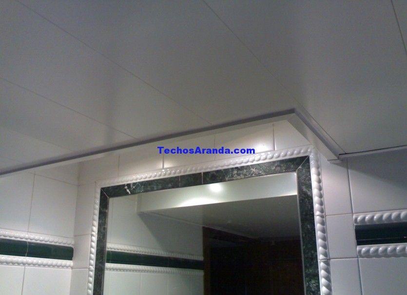 Presupuesto venta techos de aluminio registrables decorativos