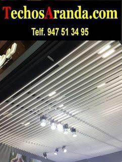 Presupuestos económicos montadores techos de aluminio acústicos decorativos