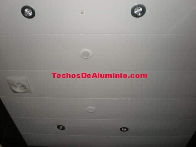 Presupuestos económicos techos de aluminio acústicos para baños