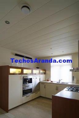 Presupuestos económicos techos de aluminio acústicos para cocinas