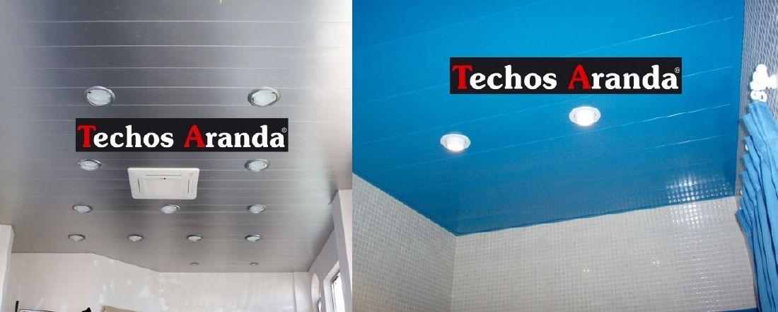 Presupuestos falsos techos aluminio desmontables decorativos