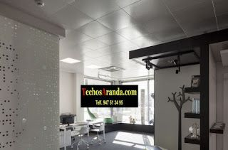 Presupuestos ofertas techos aluminio acústicos decorativos