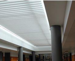Presupuestos techos aluminio acústicos decorativos
