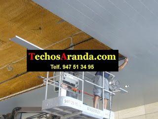 Presupuestos techos aluminio registrables decorativos