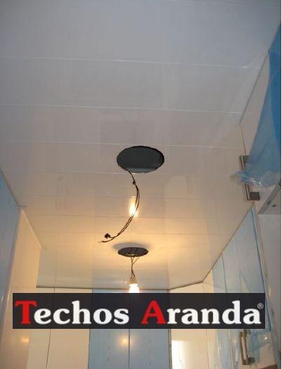 Presupuestos techos de aluminio desmontables decorativos para baños