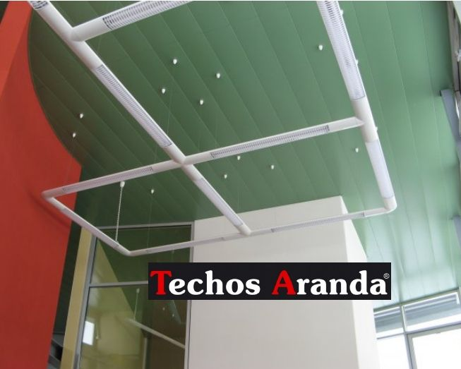 Profesional de montaje techos aluminio desmontables decorativos