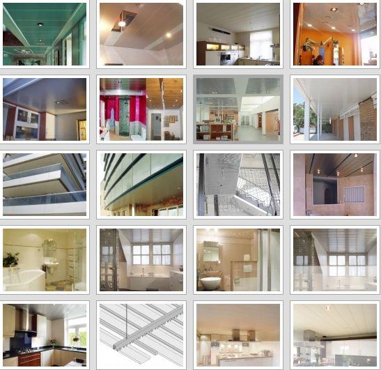 Profesional de montaje techos aluminio registrables decorativos