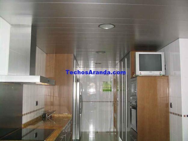 Profesional de techos de aluminio acústicos decorativos para cocinas