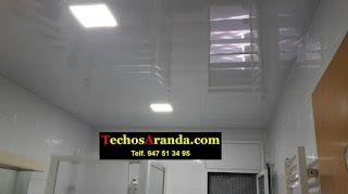 Profesional de techos de aluminio acústicos para cocinas