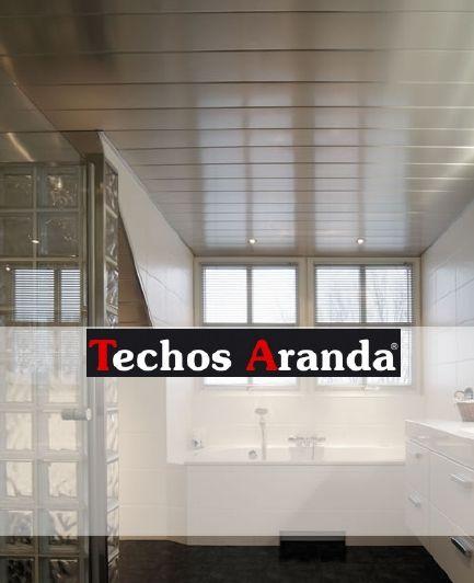 Profesional de techos de aluminio registrables decorativos para baños