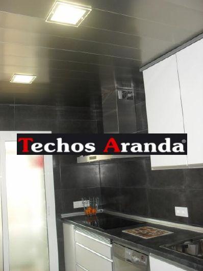 Profesional de techos de aluminio registrables decorativos para cocinas