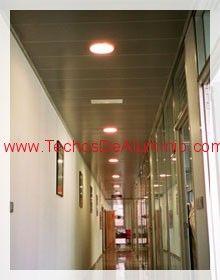 Profesional de venta techos de aluminio acústicos