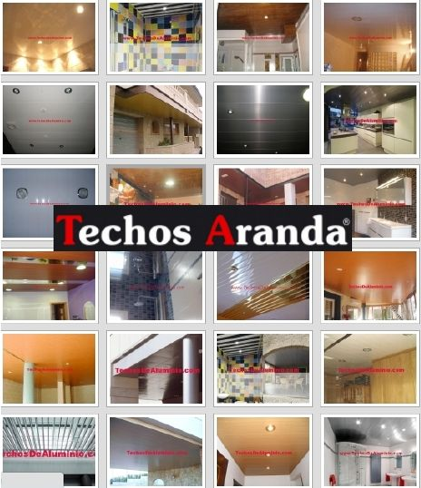 Profesional de venta techos de aluminio registrables decorativos